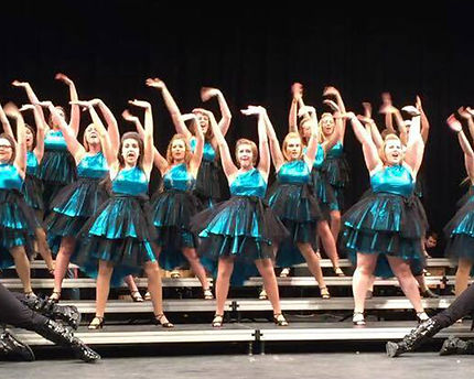 SG design handmade showchoir dresses Muscatine High School River City Rhythm 2015 2016 season