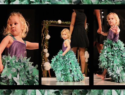 SG design Little Miss Mermaid children's wear first place The Fashion Show Iowa State University 2014