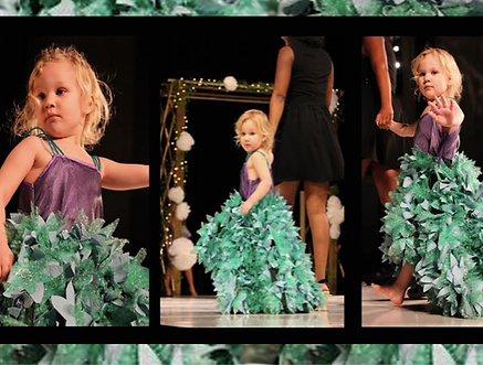 SG design Little Miss Mermaid children's wear first place The Fashion Show Iowa State University 2014