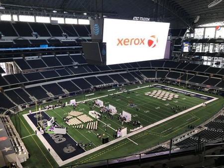 Xerox event at Dallas Stadium