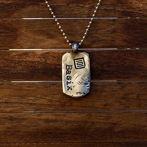 101 Basix - Dog Tag Necklace