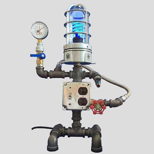 Explosion Blue-Bot