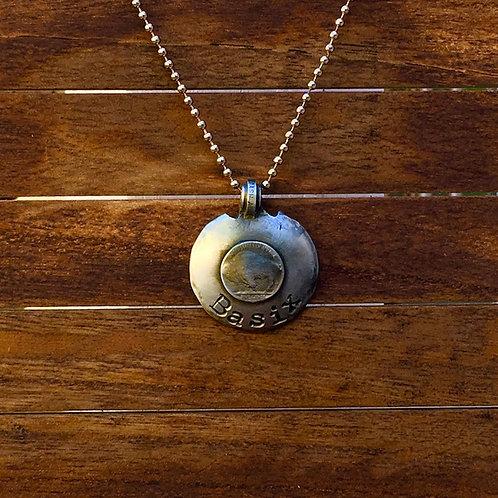 Buffalo Disc Necklace
