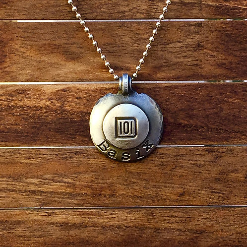 101 Basix - Disc Necklace
