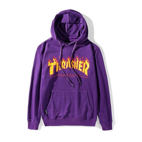 Hoodies ''purple'' Thrasher