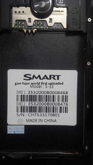 SMART S-33 MT6580 6 1 FIRMWARE OK WORKING GET IT WORLD FIRST