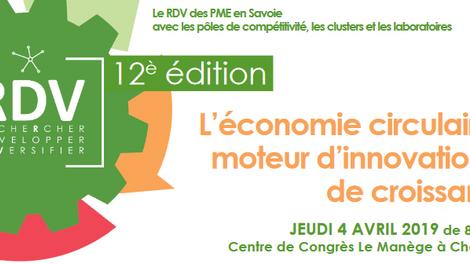 PROVADEMSE à la 12ème édition des RDV – 4 avril 2019 – Centre de Congrès Le Manège à Chambéry