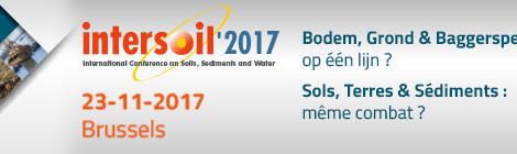 PROVADEMSE à Bruxelles pour INTERSOIL 2017, le 23 novembre 2017