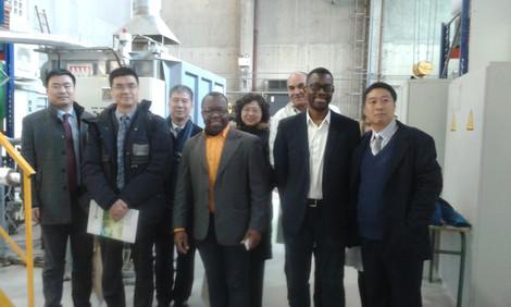 Visite de PROVADEMSE par une délégation de l'Université Tsinghua