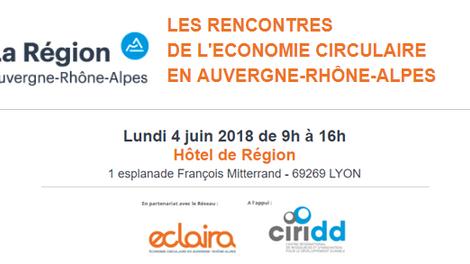 PROVADEMSE aux Rencontres de l'Economie Circulaire le 4 juin 2018