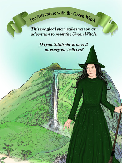 The Adventure with the Green Witch