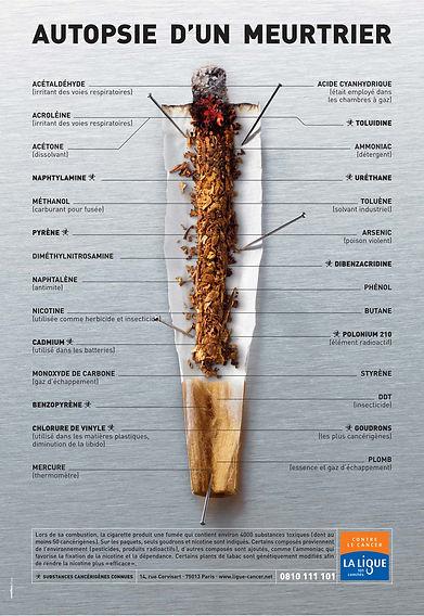 Autopsie d'un meurtrier, le tabac