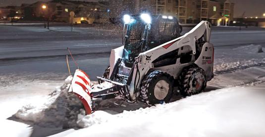 snow plowing company