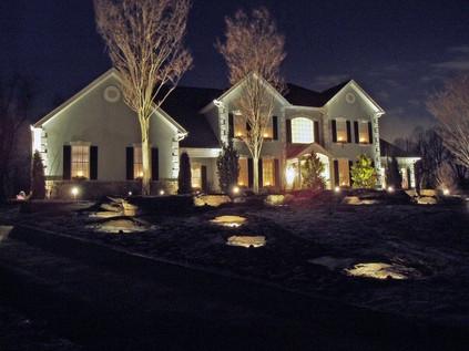 residential lighting setup