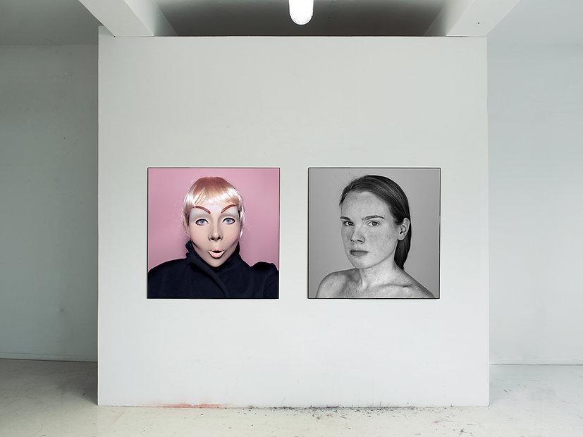 Die Maskerade des Realen, 2012 - 2013 © Ivonne Thein / VG Bildkunst Bonn