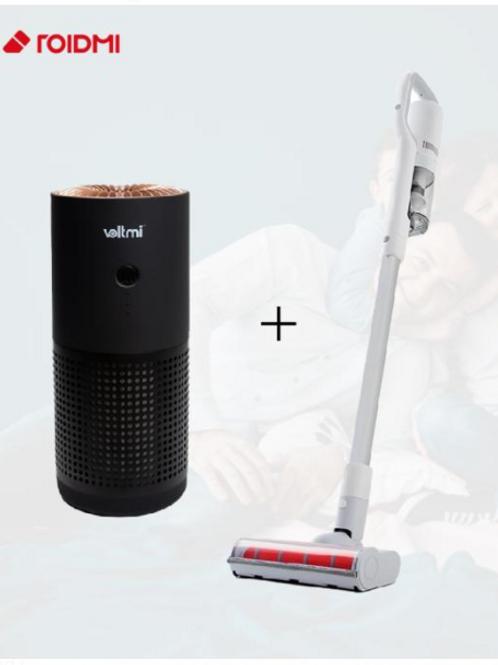 Roidmi F8 Storm FX Cordless Vacuum  + Voltmi Aura Portable Air Purifier