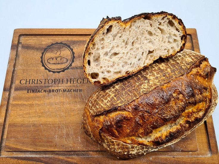 Rezept - San Francisco Sourdough Bread / backhefefrei (USA)