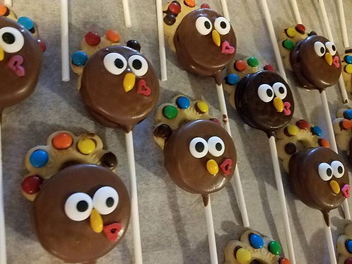 Mini Turkeys on a stick