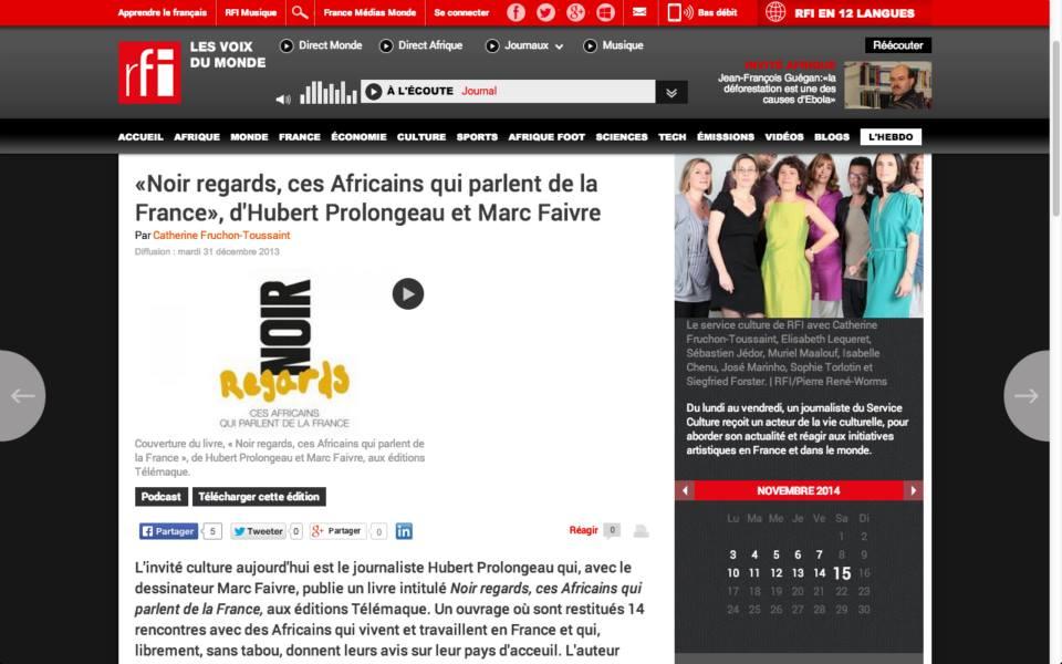 Marc Faivre  - Noir Regards