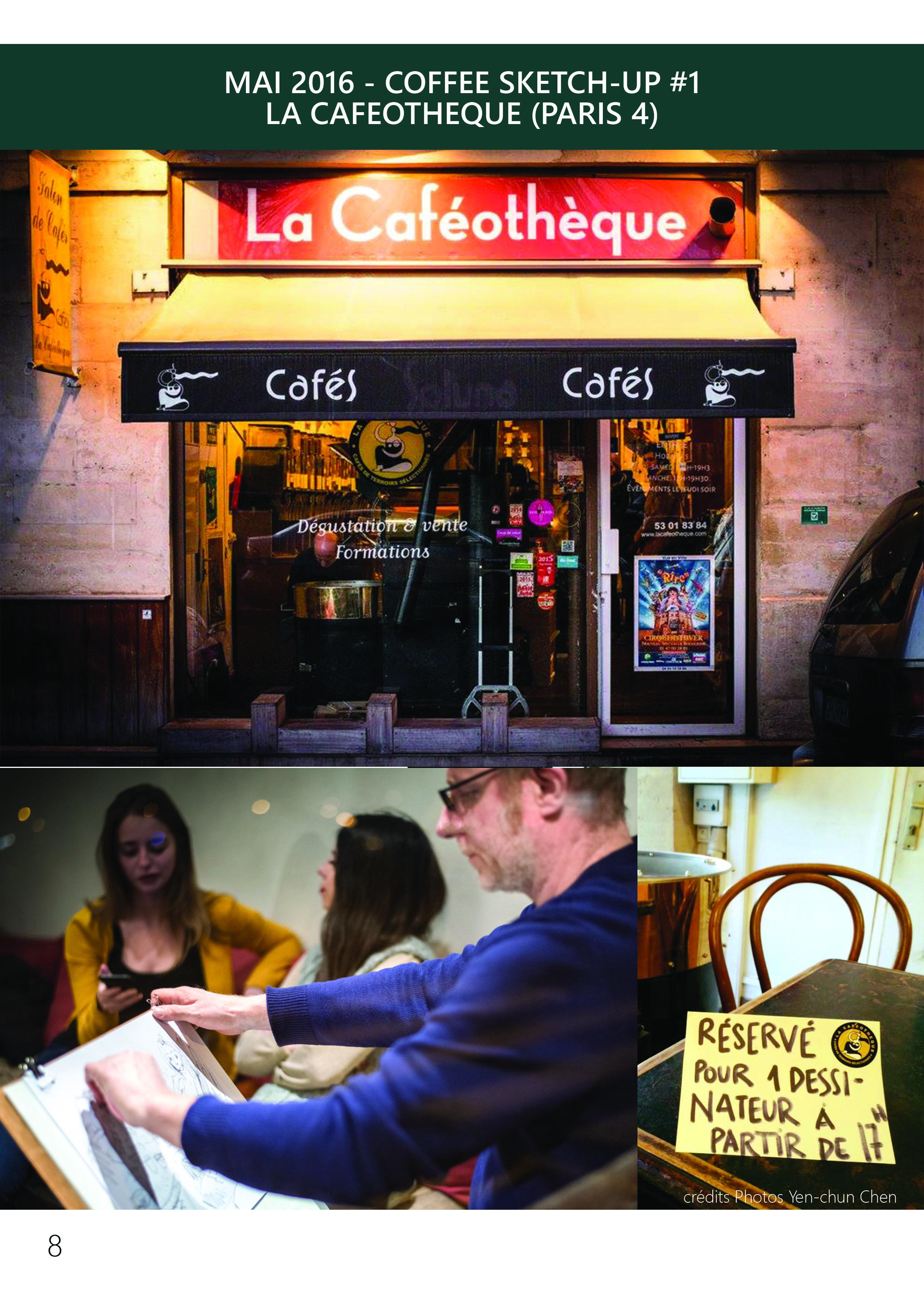 Dessin portrait Paris, Ile de France