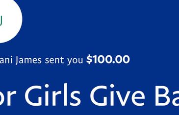 Surprise Donation