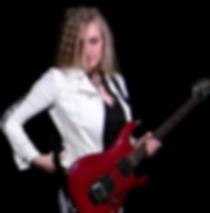 Lead guitarist Lindy Day: electric, acoustic, classical
