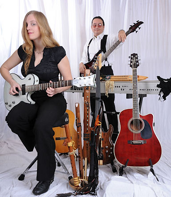 Whispering Light featuring female lead guitarist Lindy Day and multi-instrumentalist Kevin Village-Stone