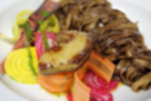 Tagliatelles Périgourdines Foie gras poêlé