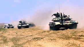 Ordumuzun tank bölmələri intensiv döyüş hazırlığına başladı