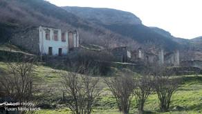 Qubadlı rayonunun Yuxarı Mollu kəndindən videogörüntülər - VİDEO