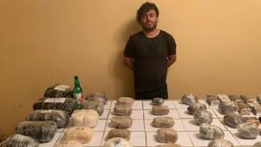 İrandan Azərbaycana 100 kq-dan çox narkotik keçirilməsinin qarşısı alınıb
