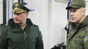 Rusiya müdafiə nazirinin müavini Qarabağa səfər edib - FOTO