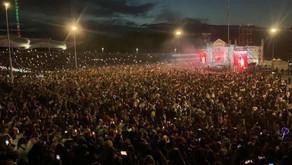 Azərbaycanlı müğənninin konsertində izdiham yaşanıb