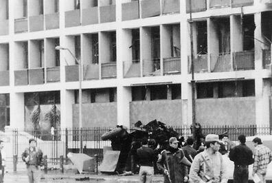 US Embassy car bombing in Lima, Peru 1993