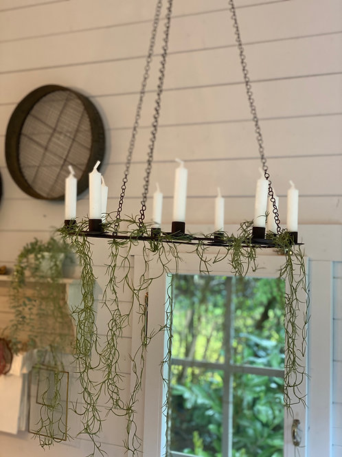 Rustic Candle Chandelier
