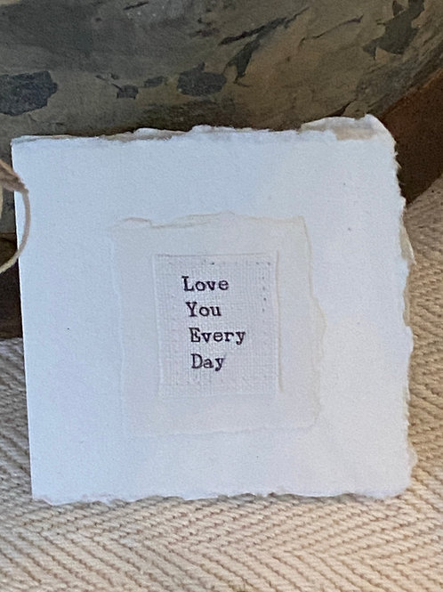 Love you every day card