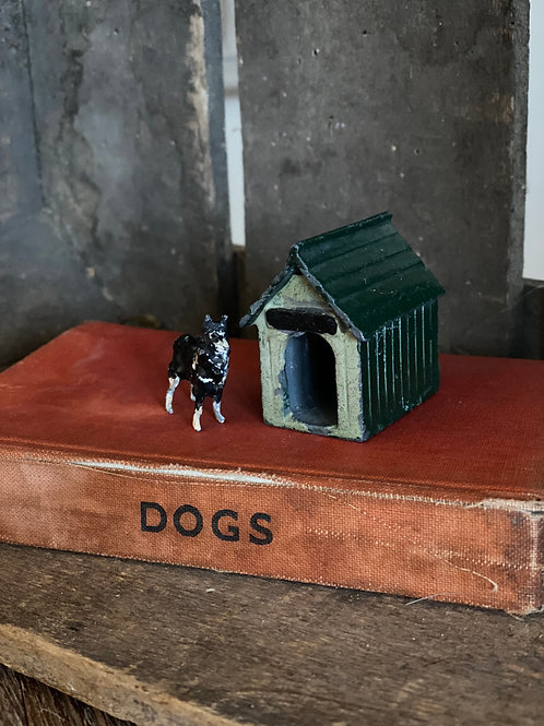 Lead Collie Dog & kennel