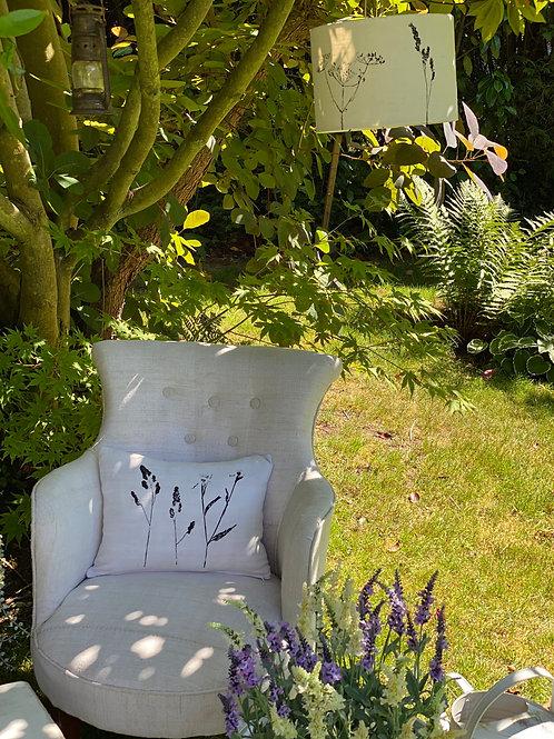 Upholstered Hemp Arm Chair