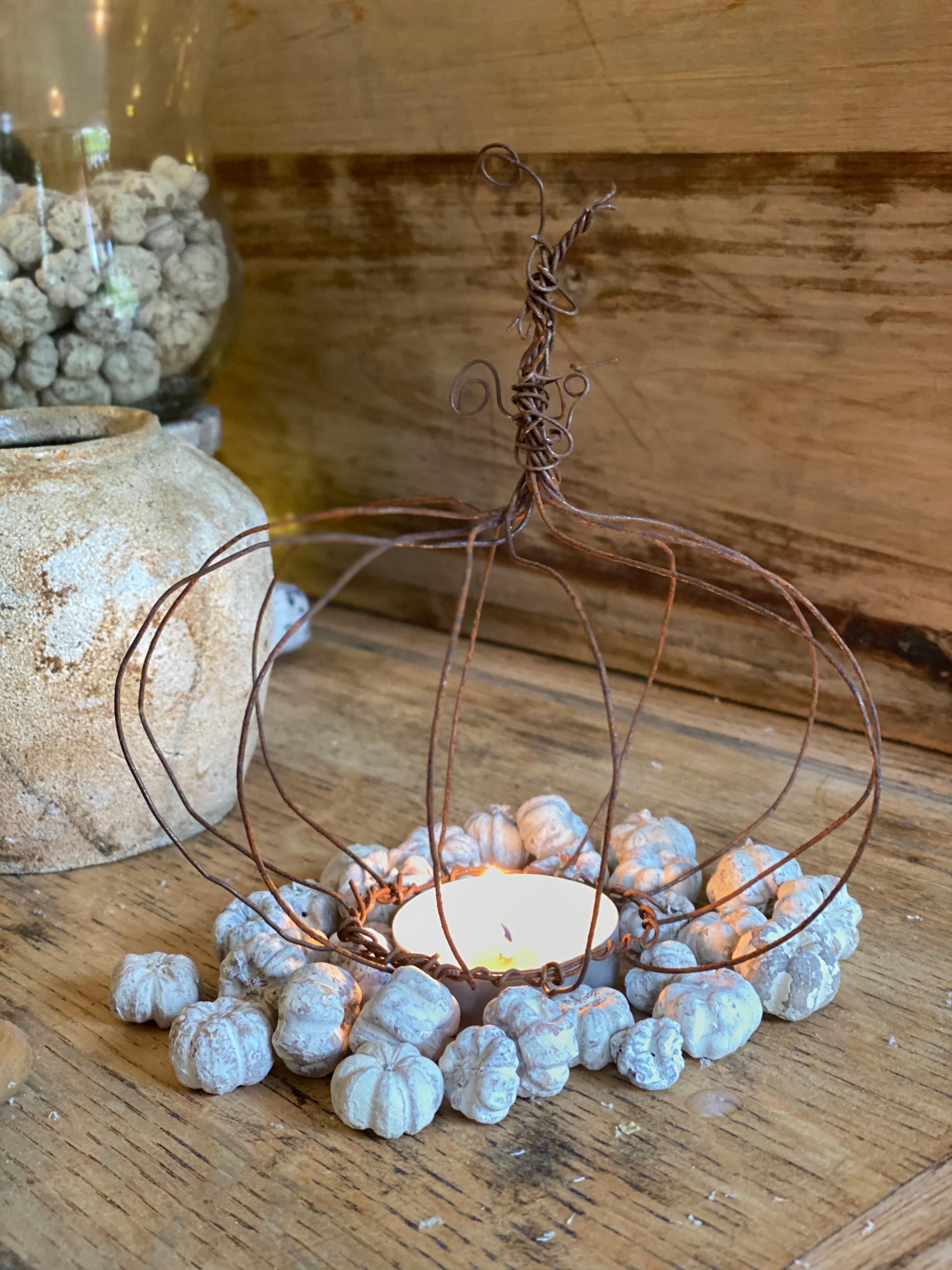 Wine & Wire Pumpkin workshops