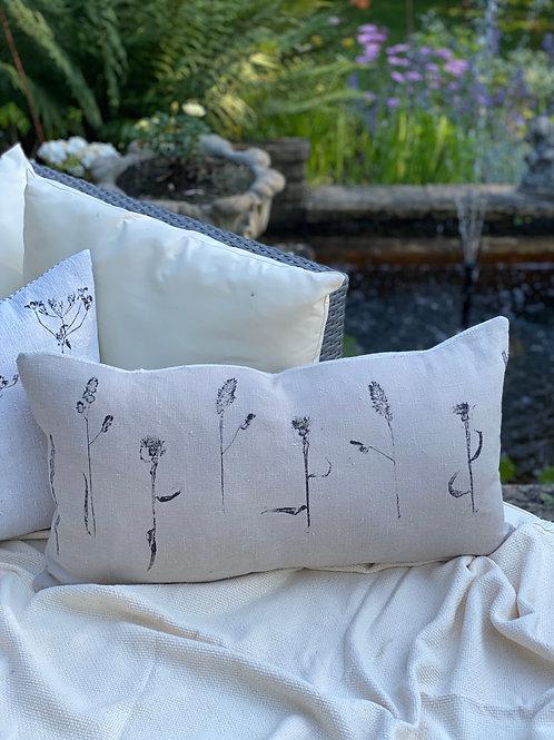 The Hedgerow Handprinted Cushion