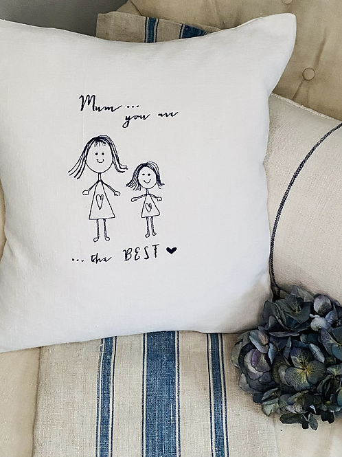 Mum 'You are The Best' cushion