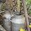 Thumbnail: French vintage milk churns