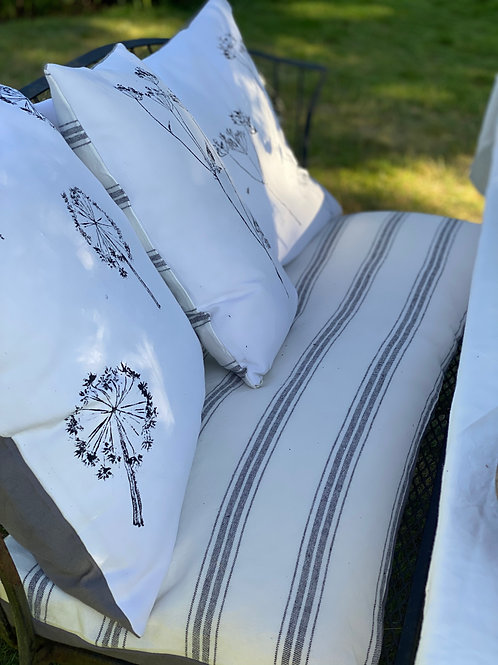 Stone washed Linen Bench Cushions