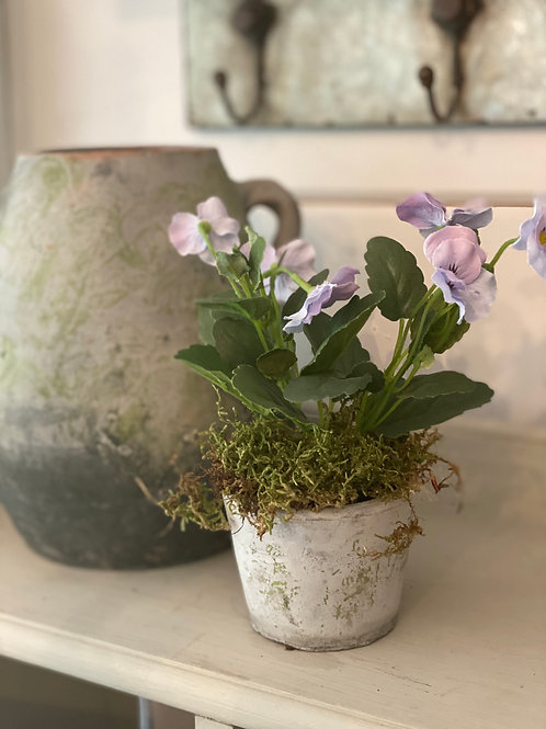 Vintage Seed Pot