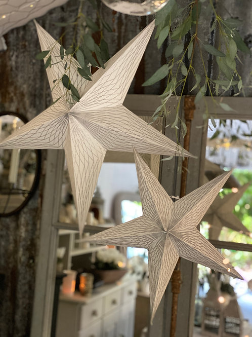 Scandinavian hanging stars