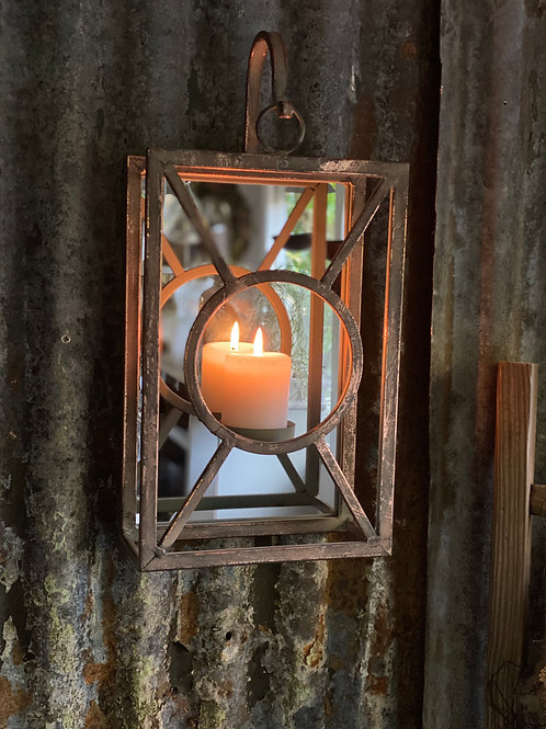 Candle wall mirror