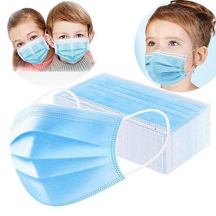 1 boîte de 50 x Masque Enfant - ASTM Niveau 1