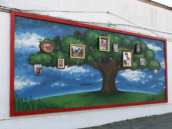 The Jackson Street Mural
