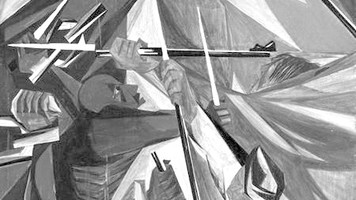 """Jacob Lawrence's """"Struggle...from the History of the American People"""""""