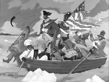 """In our Face: """"Figuring History: Robert Colescott, Kerry James Marshall, Mickelene Thomas"""""""